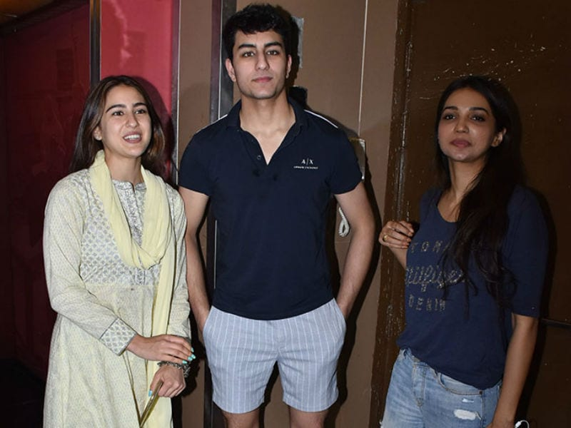 Sara And Ibrahim's Movie Date With Mom Amrita Singh
