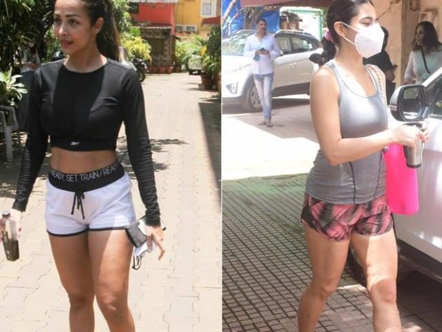 Photo : Sara Ali Khan And Malaika Arora's Fitness Diaries