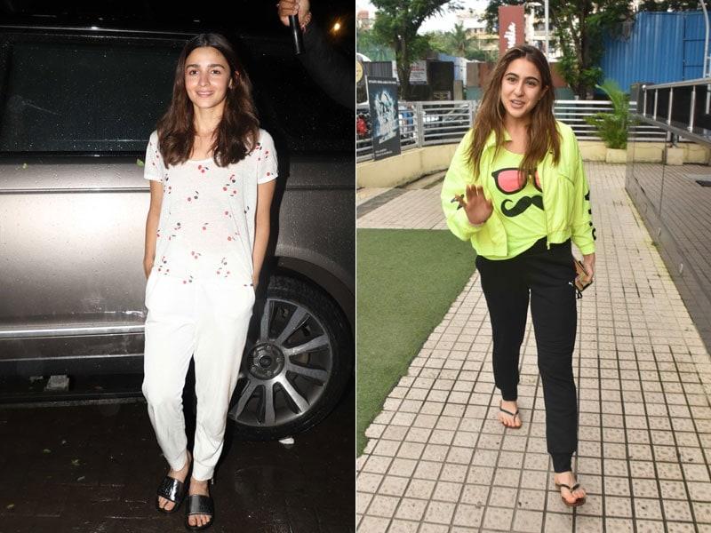 What's Keeping Alia Bhatt And Sara Ali Khan Busy