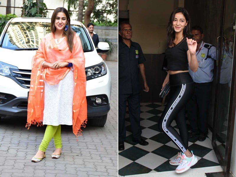 Catching Up With Sara Ali Khan And Ananya Panday