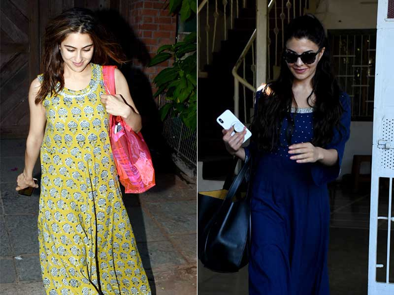 Sara Ali Khan, Jacqueline Fernandez's Summer Day Outing