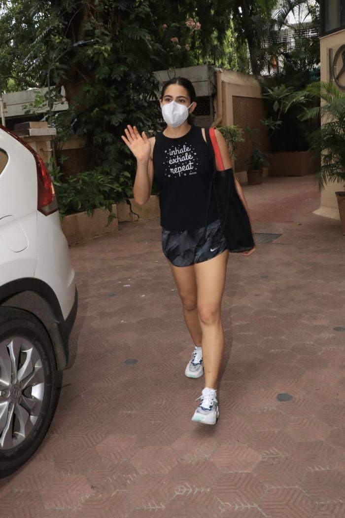 Inhale, Exhale, Repeat: Sara Ali Khan\'s Life Mantra