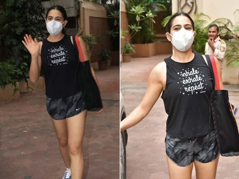 Photo : Inhale, Exhale, Repeat: Sara Ali Khan's Life Mantra