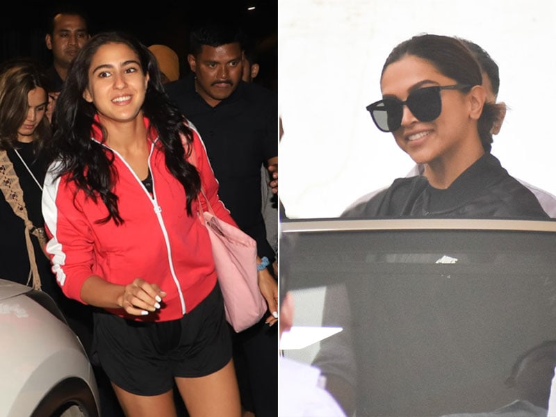 Here's What's Keeping Deepika Padukone And Sara Ali Khan Busy