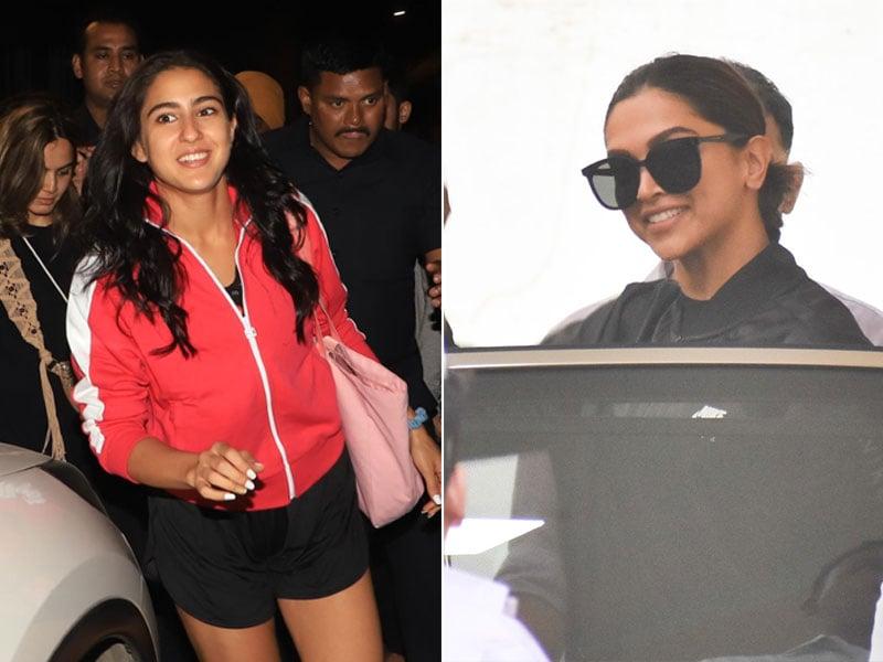 Here's What Is Keeping Deepika Padukone And Sara Ali Khan Busy