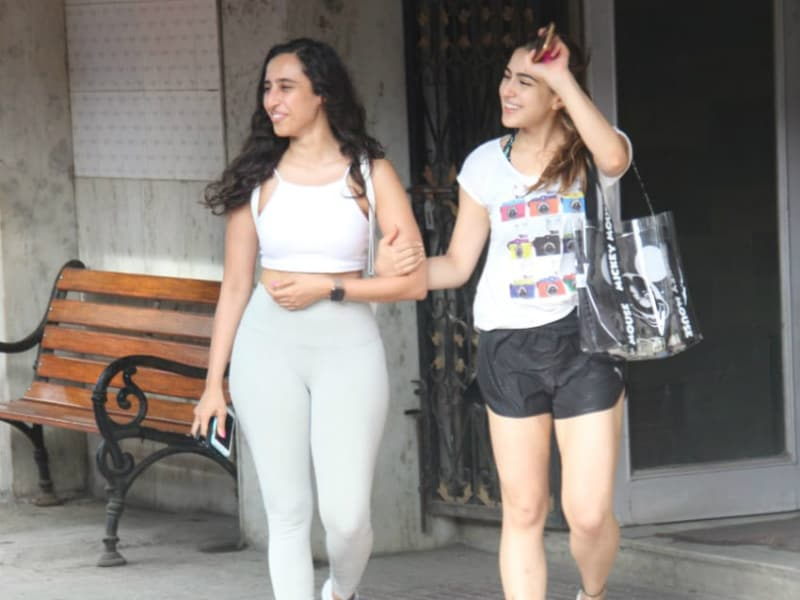 Only Sara Ali Khan Can Come Out Of The Gym Smiling Ear-To-Ear