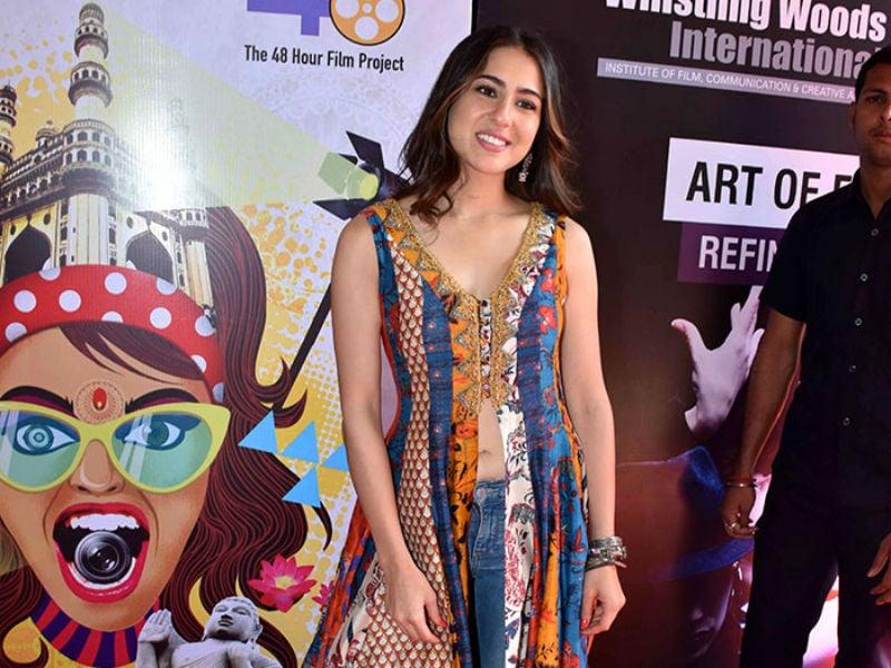 Sara Ali Khan Attends CINTAA's ActFest