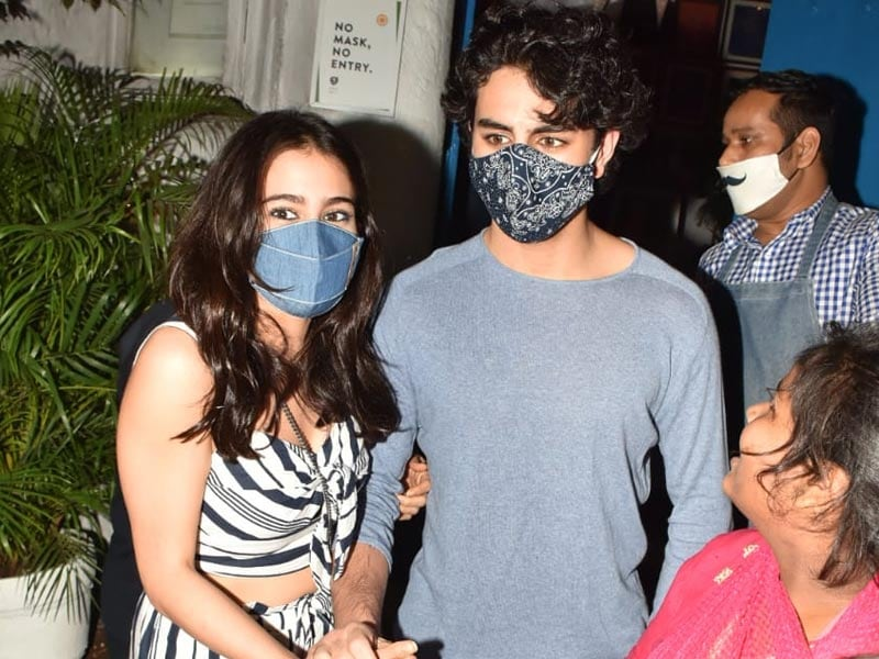 Sara Ali Khan's Day Out With Brother Ibrahim Ali Khan