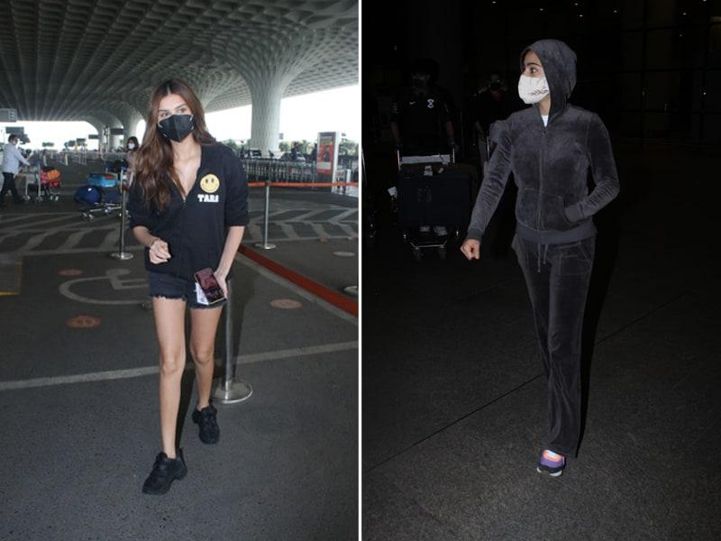Photo : सारा अली खान  के अलावा मुंबई एयरपोर्ट पर स्पॉट किए गए ये सितारे