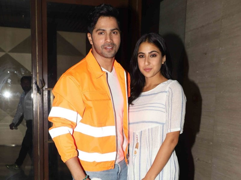 See Who Sara Ali Khan And Varun Dhawan Invited To The Wrap-Up Party Of Coolie No 1