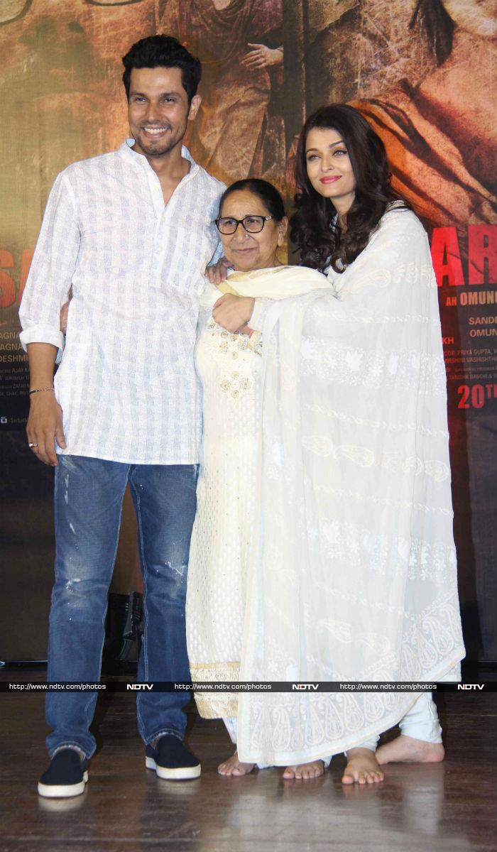 Aishwarya Rai, Dalbir Kaur Remember Sarabjit Singh