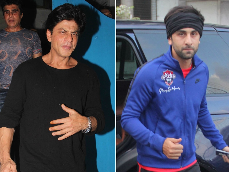 How Shah Rukh Khan, Ranbir Kapoor Spent Their Saturday