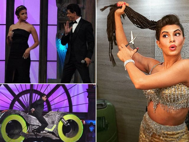 On-Stage, Off-Stage and Backstage at the Screen Awards