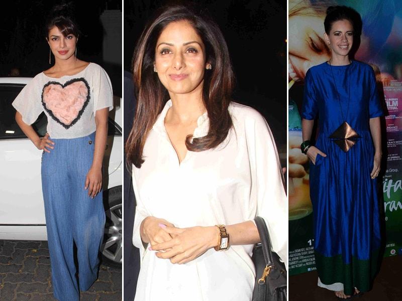 Priyanka, Sridevi's Dil Dhadakne Do Diaries; Kalki's Margarita Date