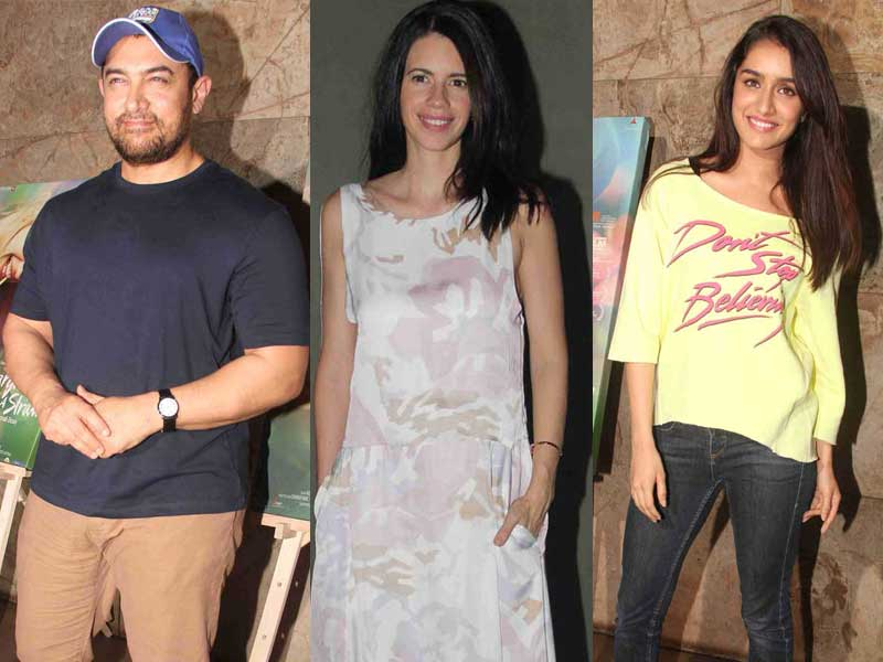 Of Film Screenings: Aamir, Kalki, Shraddha