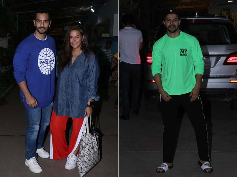 Varun, Neha, Angad And Others Cheered For Diljit Dosanjh During The Screening Of Shadaa