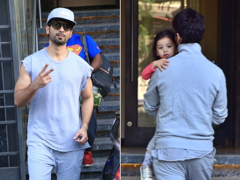 Photo : Shahid Kapoor's Day Out With Daughter Misha
