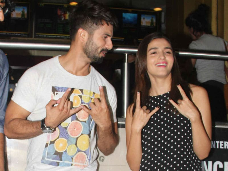 Udta Punjab Spreads Wings. Alia, Shahid Celebrate With Fans