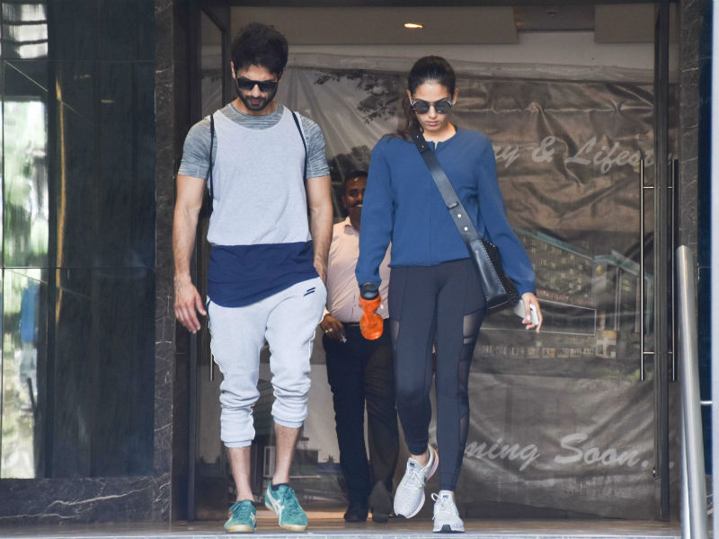Catching Up With Shahid Kapoor And Mira Rajput