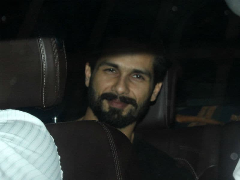 Daddy's Day Out For Shahid Kapoor