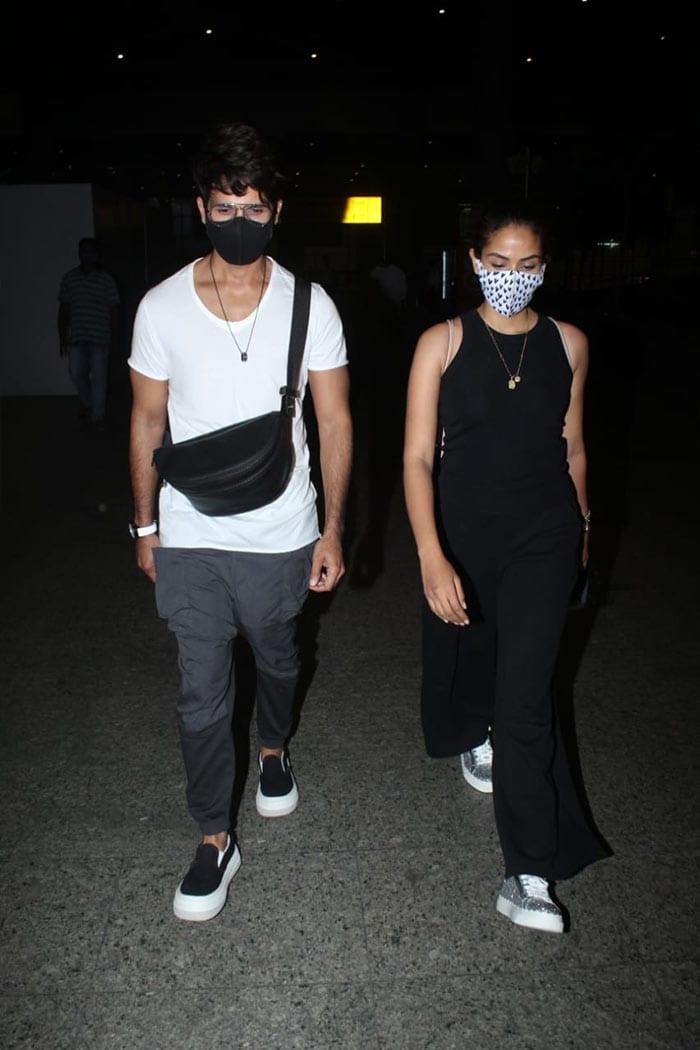Shahid-Mira to Nikki Tamboli: Film And TV Celebs At Airport