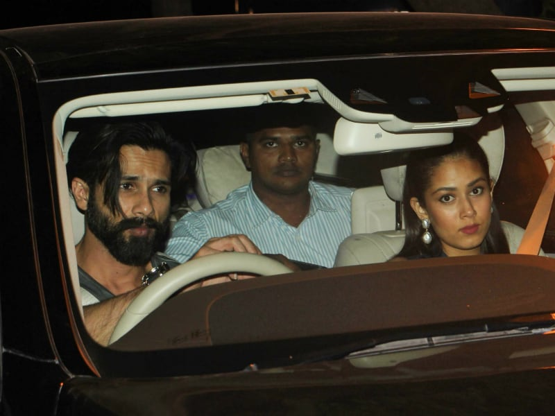 Not Justin Bieber Concert, Shahid-Mira Were Spotted At...