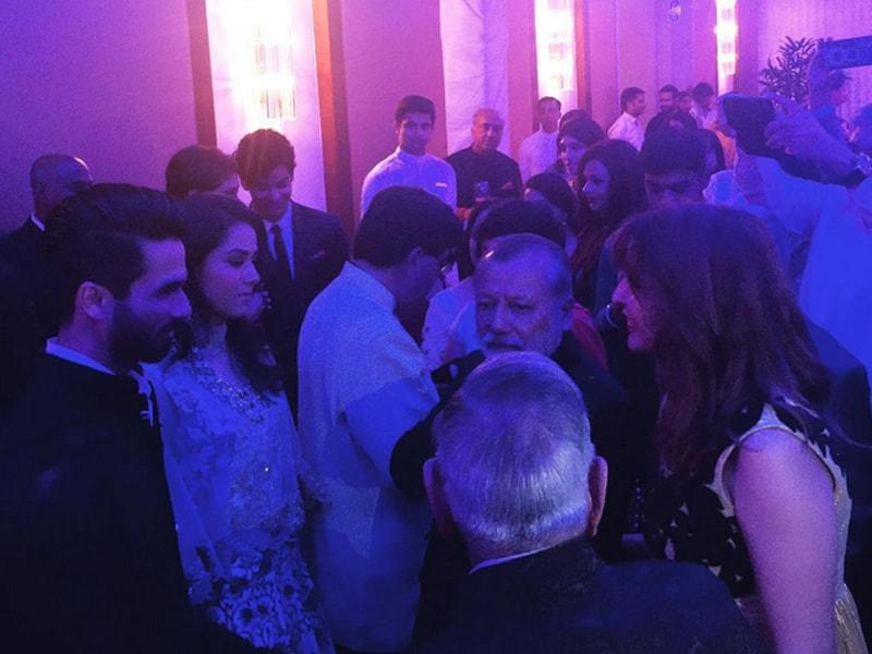 Inside Pics: Shahid and Mira's Delhi Reception