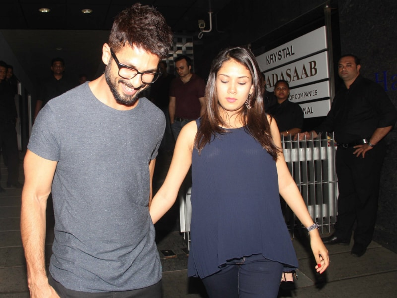 Shahid Kapoor, Mira Rajput's Weekend Outing Was This