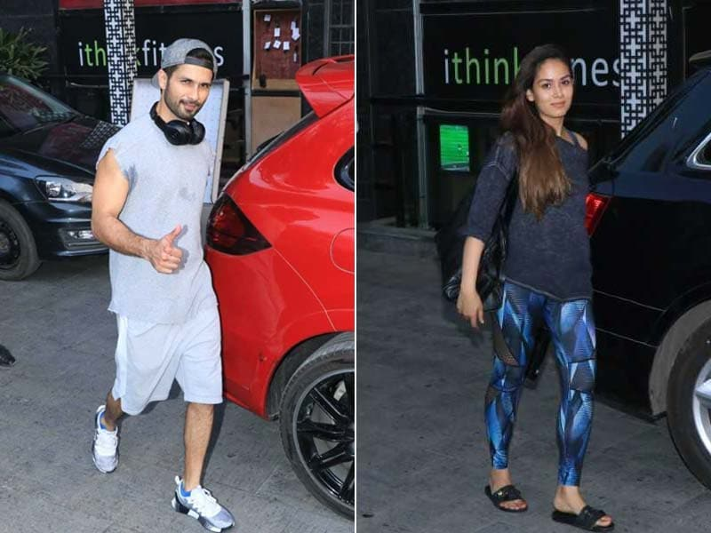 Some Fitness Goals From Shahid Kapoor And Mira Rajput