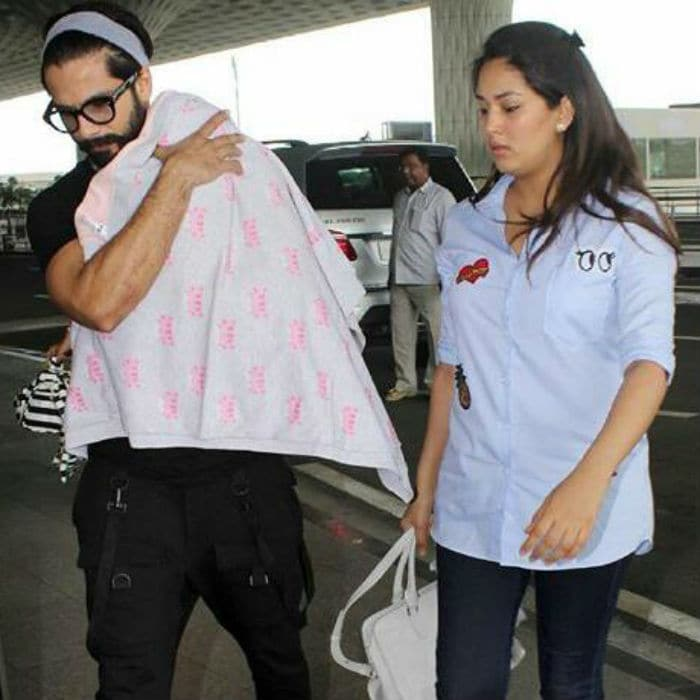 Shahid, Mira, Misha Make For A Shaandaar Family Photo
