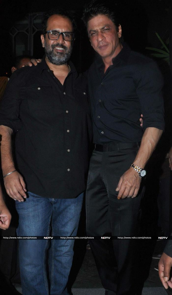 Shah Rukh, Kangana Party All Night With Aanand L Rai