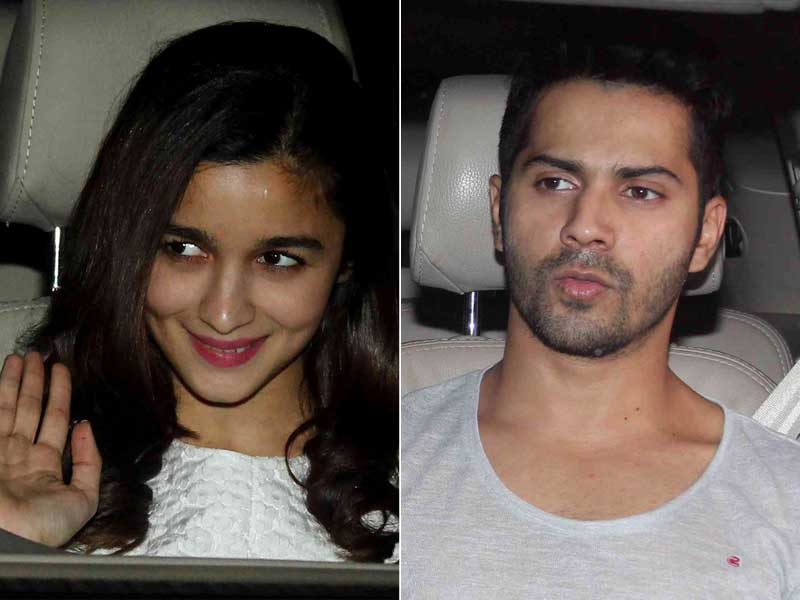 Alia, Varun Party With Dilwala Shah Rukh