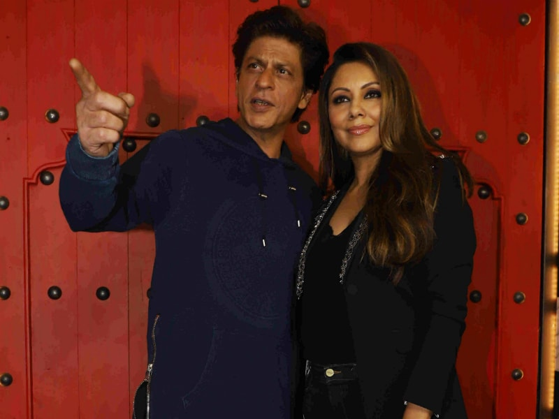 A 'Khan'tastic Night With Shah Rukh And Gauri