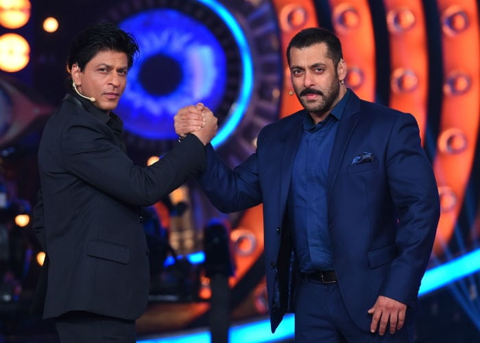 Shah Rukh, Salman\'s Karan Arjuan Milap on Bigg Boss