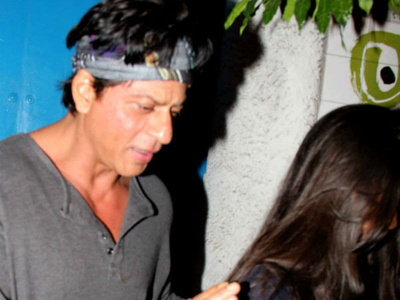 Shah Rukh Khan's Day Out With Daughter Suhana