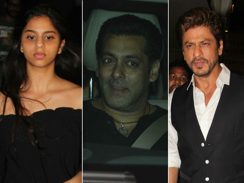 Shah Rukh, Suhana Switch On Salman Khan's Tubelight