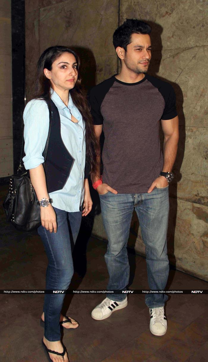 A Filmy Courtship: Aamir-Kiran, Soha-Kunal\'s Double Date
