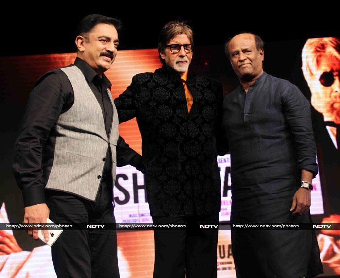 Rajinikanth, Kamal Haasan, Sridevi, Ash Root for Shamitabh
