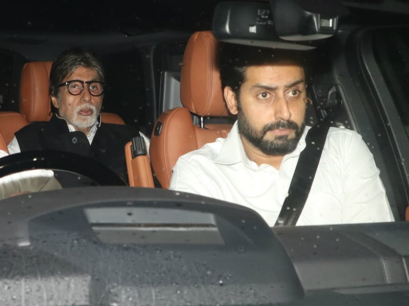 The Bachchans At Shashi Kapoor's Residence