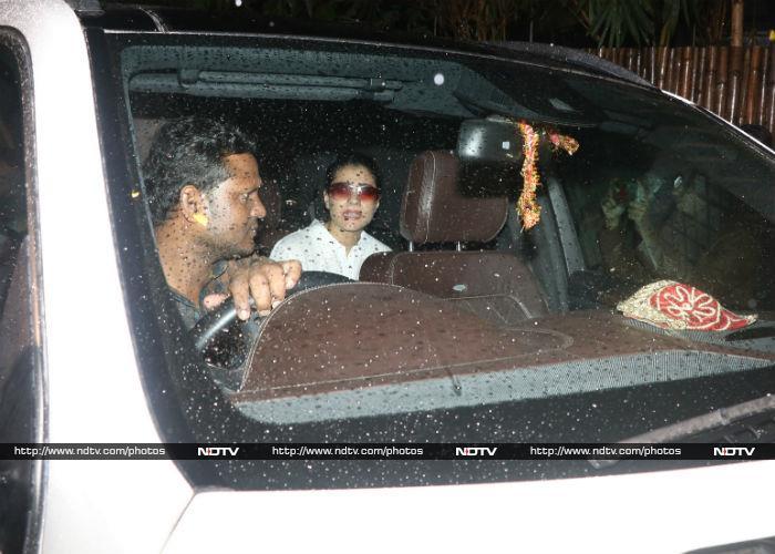 The Bachchans At Shashi Kapoor\'s Residence