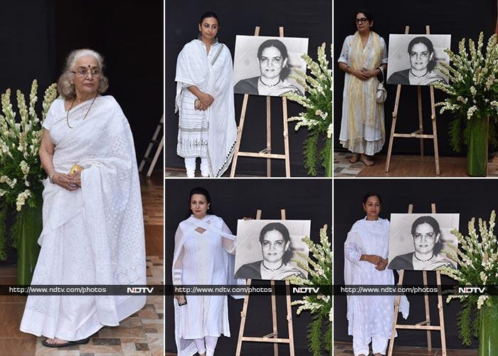 शौकत कैफ़ी की प्रेयर मीट: आमिर, तब्बू और अनिल कपूर समेत कई सितारों ने की शिरकत