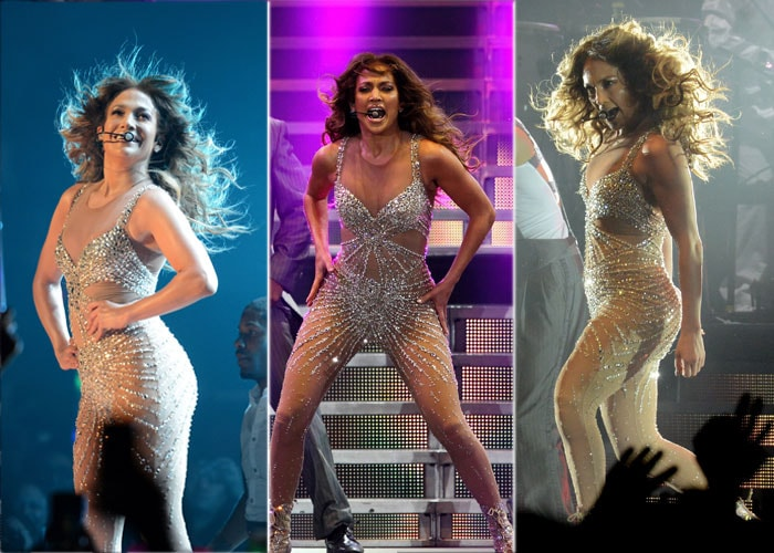 Jennifer Lopez copies…herself!