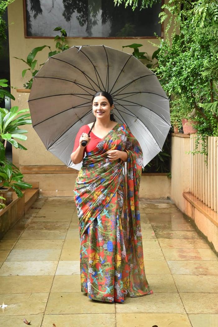 No Rain On Vidya Balan\'s Sherni Parade