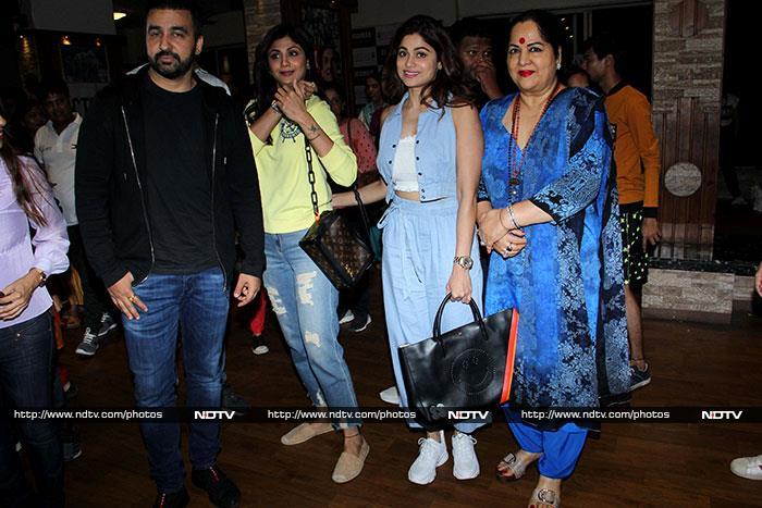Shilpa Shetty\'s Son Viaan Raj Is A Rockstar At Shiamak Davar\'s Event