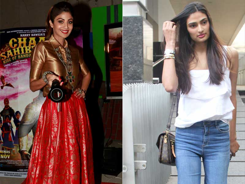 Shilpa Shetty, Athiya Shetty Make A Style Statement