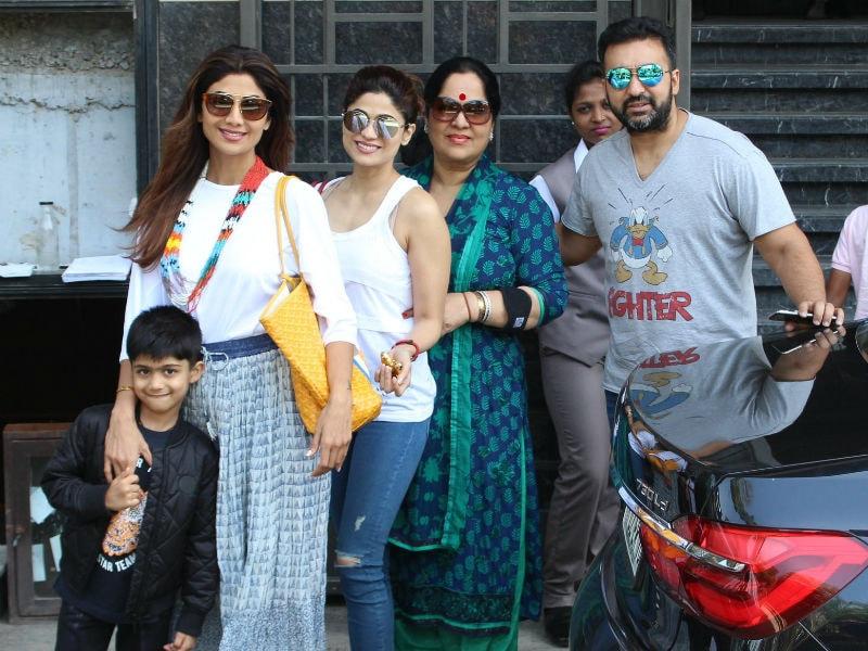 Inside Shilpa Shetty's Famjam