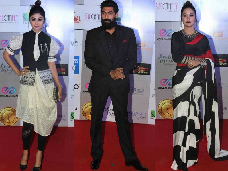 Shilpa Shetty, Rana Daggubati, Hina Khan Style Up Award Show
