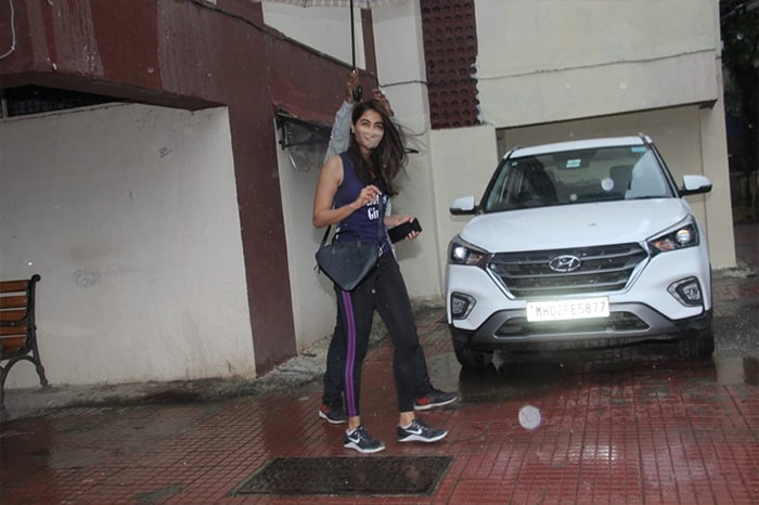 Pooja Hegde picked out casuals as she stepped out in Bandra.