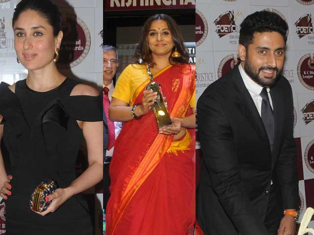 Back to College: Kareena, Vidya, Abhishek
