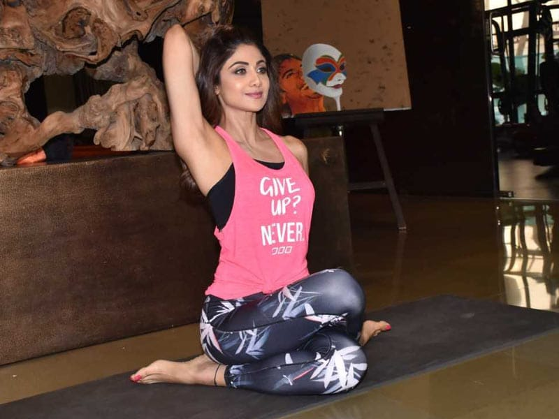 Shilpa Shetty Is Setting High Fitness Goals